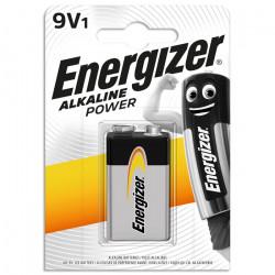 Αλκαλική μπαταρία Energizer 6LR61, 9V σε blister.