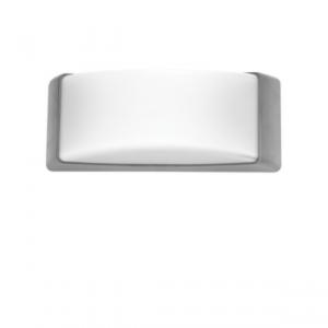 Επίτοιχη απλίκα πλαστική IP65 Γκρί Μονο λαμπα led FOSME 21-0112-10