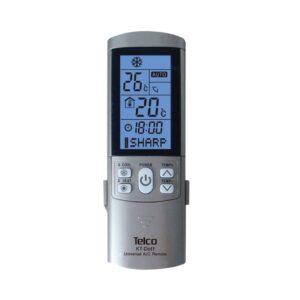 Τηλεχειριστήριο universal για air conditioner TELCO ασημί