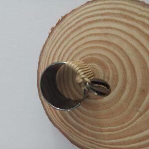 Δαχτυλιδι με μοτιφακι κοχυλι