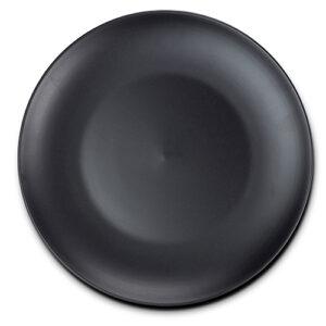 Πιάτο ρηχό stoneware μαύρο Δ26.5cm Nava 10-141-050