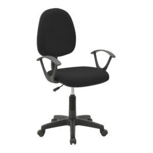 INART Καρέκλα Γραφείου Mαυρη Κωδ¨ 6-50-592-0008