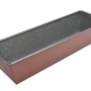 ESTIA Φόρμα ορθογώνια ψωμιού/κεϊκ Stone  Απο Ανθρακουχο Χαλυβα M30,5Π15,5Υ7,3cm 01-5221