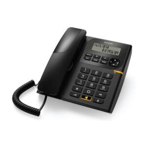 Ενσύρματο τηλέφωνο με αναγνώριση κλήσης Μαύρο T58 Alcatel