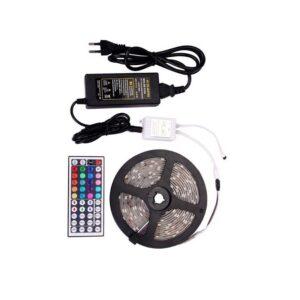 Σετ ταινία led 5050 12V DC 14.4W IP65 RGB 5m Spotlight 5196