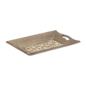 Δισκάκι ξύλινο INART 3-70-104-0762