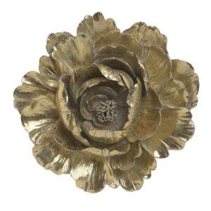 Διακοσμητικό Τοίχου Λουλούδι Polyresin inart 27x4,5x26εκ. 3-70-117-0123
