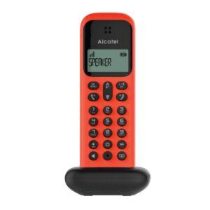 Ασύρματο τηλέφωνο Κόκκινο D285 TELCO