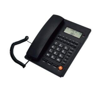 Ενσύρματο τηλέφωνο με αναγνώριση κλήσης Μαύρο ΤΜ-PA117 TELCO