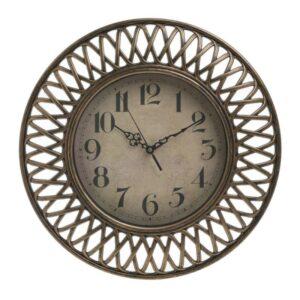Ρολόι Τοίχου INART PL ΧΡΥΣΟ Δ40X4  3-20-385-0066