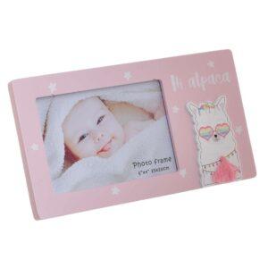 Παιδική Κορνίζα 15Χ10  κωδ. 3-30-817-0070 ΙNART  Ροζ MDF