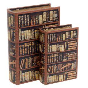 Κουτί/Βιβλίο Σετ Των 2 INART 3-70-106-0028