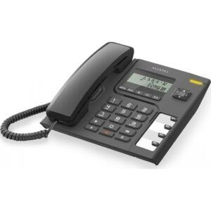 Ενσύρματο τηλέφωνο με αναγνώριση κλήσης Μαύρο Τ56   Alcatel Κωδ:010009