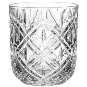 Ποτήρια ουίσκι σετ 6 τεμαχίων 280cc Inart ΚΩΔ. 3-60-781-0001