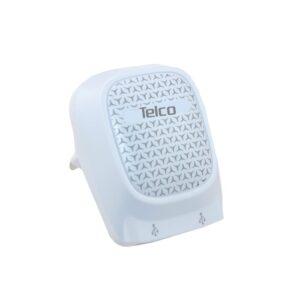 TELCO Φορτιστής τοίχου USB 2 θυρών Λευκός UP-40 L99.692