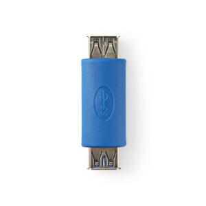 NEDIS  Aντάπτορας - Mούφα USB 3.0 A θηλ.- θηλ., μπλε χρώμα. - Κωδ : 233-0464