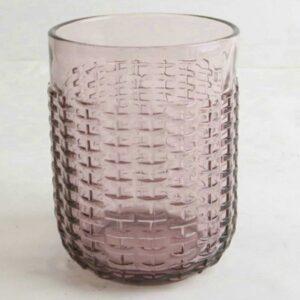 Ποτήρι Νερού-Αναψυκτικού Σετ 6τμχ. Rattan Purple 350ml Marva Κωδ: 829002