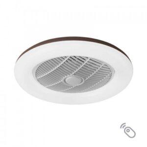 "Lineme Ανεμιστήρας Οροφής CIERZO 12""(30cm) LED 35W Με Τηλεχειριστήριο(3σε1,Θερμο,Λευκό,Ψυχρό) 02-00167"