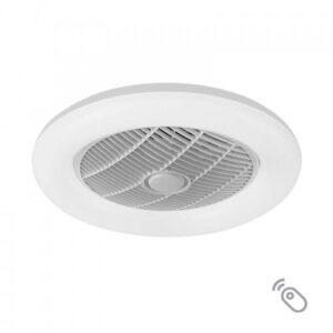 "Lineme Ανεμιστήρας Οροφής CIERZO 12""(30cm) LED 35W Με Τηλεχειριστήριο(3σε1,Θερμο,Λευκό,Ψυχρό) 02-00168"