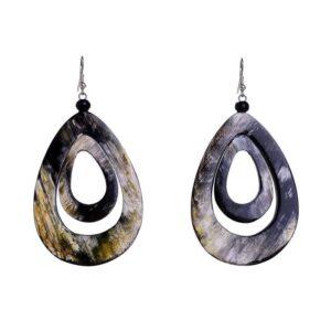 Βle Resort Collection Σκουλαρίκια Marble 5-45-600-0024