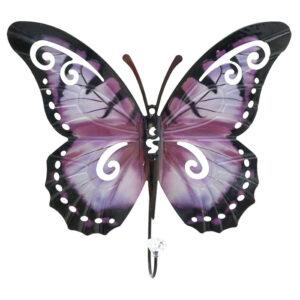 Κρεμάστρα Πεταλούδα 32X31 Pink 3-70-148-0012 Inart