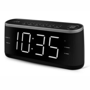 LIFE RAC-003 RADIO ALARM CLOCK WITH LED DISPLAY,BLACK ΚΑΤΑΣΚΕΥΑΣΤΗΣ  LIFE 221-0082