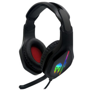 NOD 141-0153 IRON ΣOUND v2 GAMING HEADSET, WITH RUNNING RGB & ADAPTER