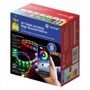Ταινία LED Music Magic Bluetooth RGB 5m Spot Light 5143